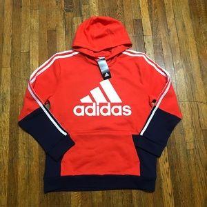 Adidas Youth Fleece Hoodie